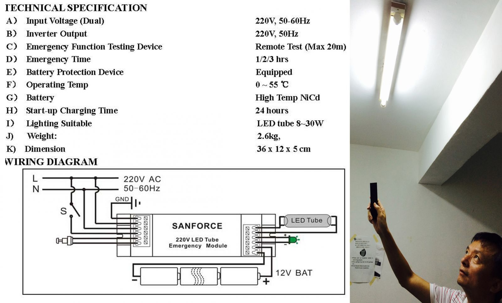 Emergency Lighting Wiring Diagrams Safety Led Most Regulations Ask For Monthly Inspection This Device Can Save 90 Of Your Time